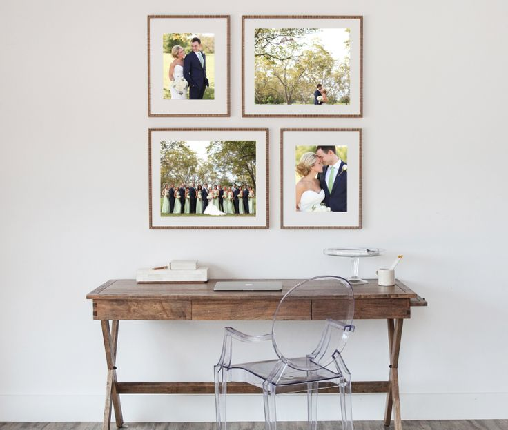 Framed collections photo collage framing wedding photos for Displaying pictures in your home
