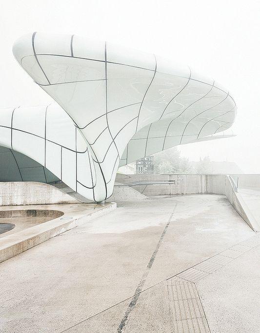 ♂ White architecture design