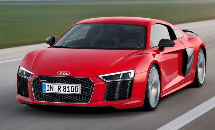 2016 Audi R8: Audi's take on a supercar to compete with the likes of McLarens and Ferraris