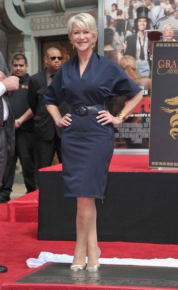 Helen Mirren's Style, She is so cool!!!