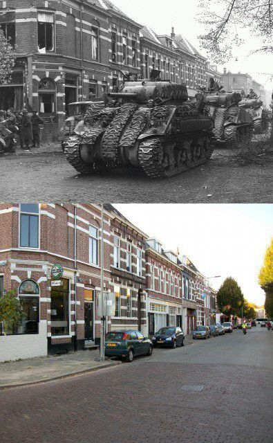 Arnhem 1944. Cattepoelseweg