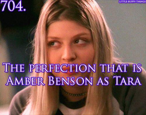 Little Buffy things - Amber Benson as Tara