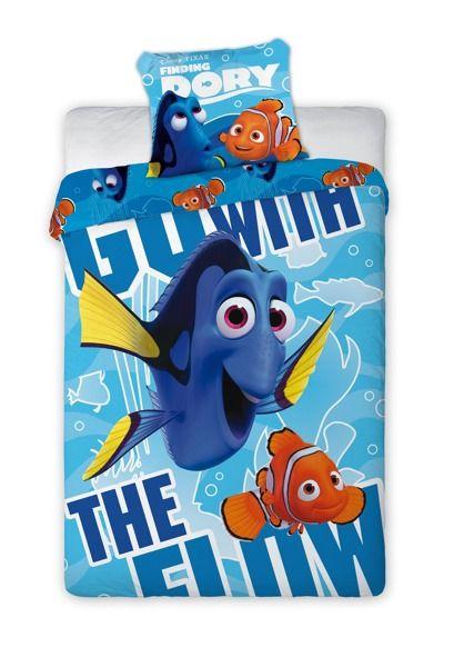 Posteľné obliečky pre deti s motívom rozprávky Nemo