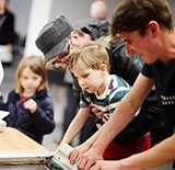 Family art workshops at The Tetley, Leeds
