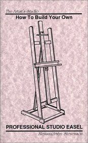Build your own easel h frame build your own for Build your own coffee table kit