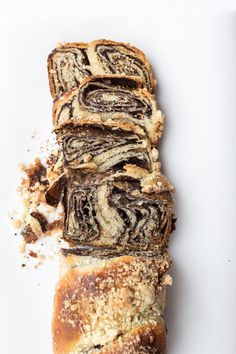 No Knead Chocolate Babka - Babka is basically a Jewish bread that is super enriched (as in it's about as healthy and bread-like as a croissant and brioche mix) and in this case, swirled with an impossible amount of sweet, bitter chocolate and topped with a beyond crumbly, buttery streusel.