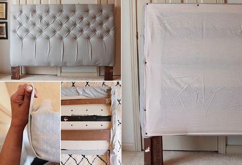 50 schlafzimmer ideen f r bett kopfteil selber machen bett r ckwand pinterest schlafzimmer. Black Bedroom Furniture Sets. Home Design Ideas