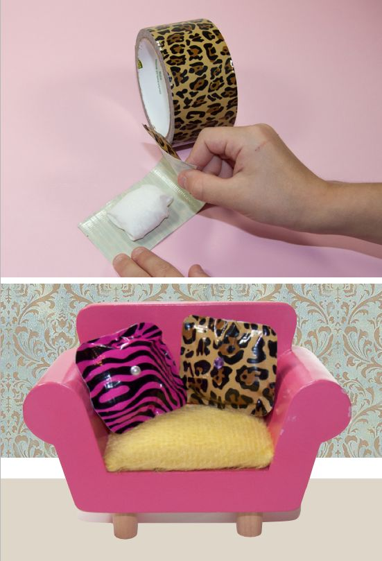 No Sew Barbie Pillows