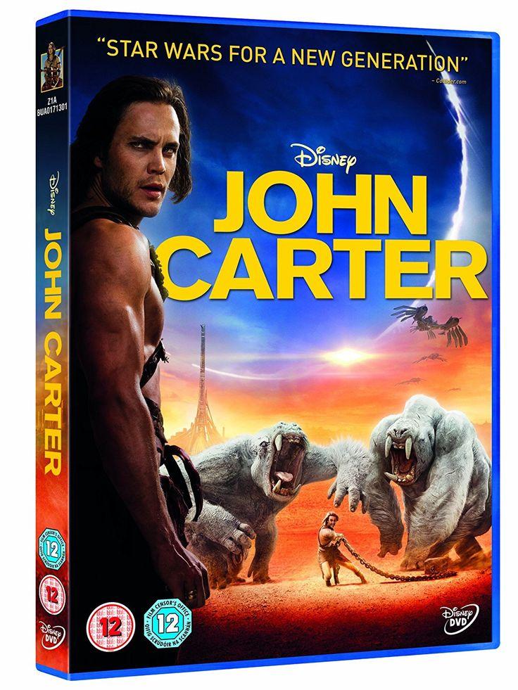 John Carter [DVD]: Amazon.co.uk: Taylor Kitsch, Lynn Collins, Willem Dafoe, Mark Strong, James Purefoy, Andrew Stanton: DVD & Blu-ray