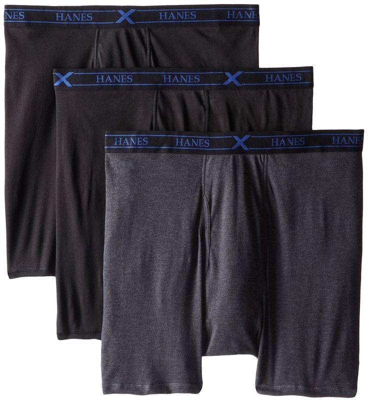 Hanes Men's Ultimate X-Temp Boxer Briefs - Assorted, 3-Pack /  Choose Sz #Hanes #BoxerBrief
