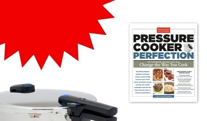 OMG! Another item for my #culinarywishlist <3 >> Unlock the potential of the modern pressure cooker with our new cookbook.