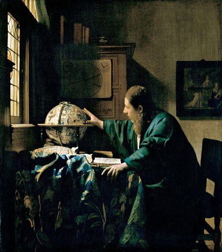 ヨハネス・フェルメール『天文学者』 1668年 Photo © RMN-Grand Palais (musée du Louvre) / René-Gabriel Ojéda / distributed by AMF - DNPartcom|六本木の国立新美術館|2015年2月21日から