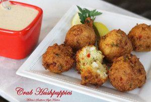 Crab-Stuffed Hushpuppies | FaveSouthernRecipes.com