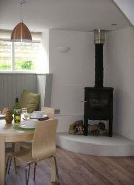 29+ Trendy wood burning stove corner design