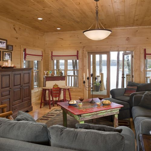 Knotty Pine Home Design Ideas Pictures Remodel and Decor