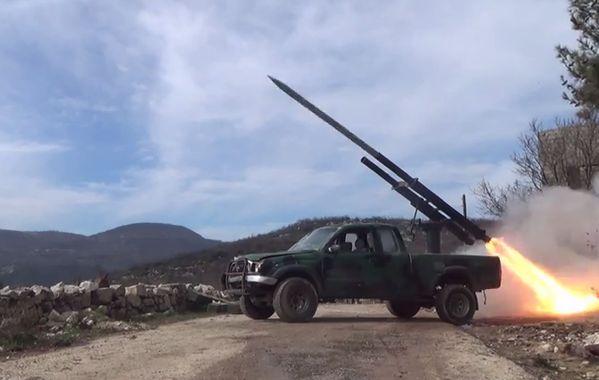 Pasukan Oposisi Suriah Terima Peluncur Roket BM-21 Grad Terbaru | http://www.hobbymiliter.com/2672/pasukan-oposisi-suriah-terima-peluncur-roket-bm-21-grad-terbaru/