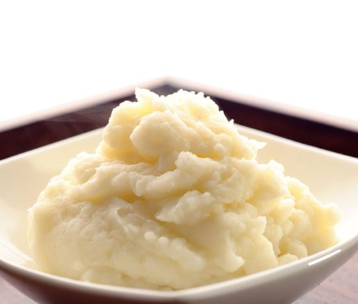 Truffle Whipped Potatoes | White truffle oil adds a touch of elegance to this creamy, classic steakhouse side.