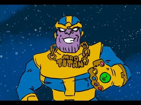 The Story Behind Marvel's Infinity Gauntlet Explained in Three Hilarious Minutes