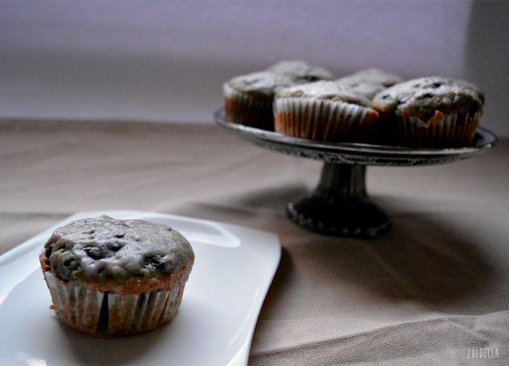 Gyors és könnyen elkészíthető vegan muffin.