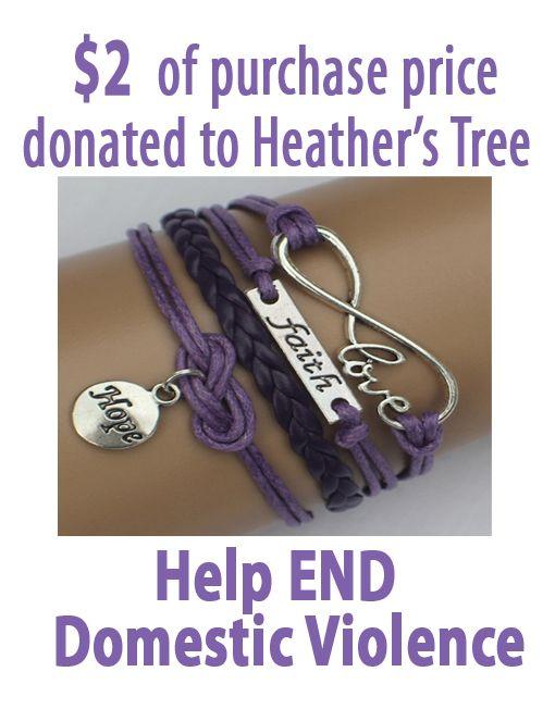 These are so fun! I bought mine :) Love, Faith, Hope Domestic Violence ModWrap – Purple