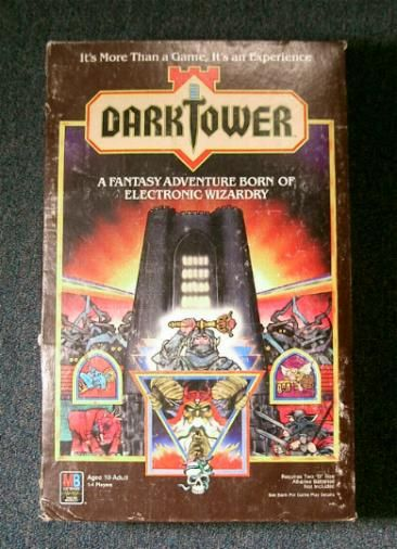 Dark Tower Board Game by Milton Bradley