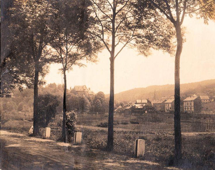 1950 ca. - Blick auf Schönstein von der B62 aus - JMW