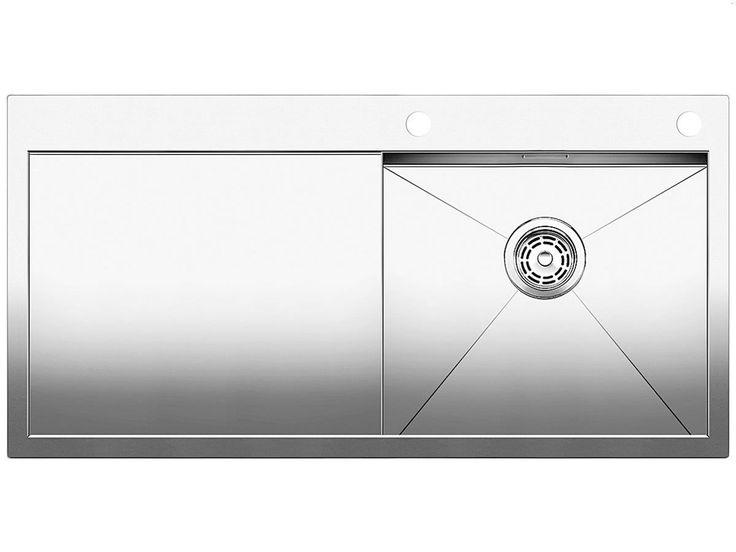 Blanco Zerox 5 S-IF Edelstahl-Spüle Seidenglanz Küchenspüle Spülbecken Einbau