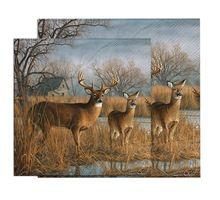20 servilletas servilletas de papel 25*25 cm dos capas animal ciervos napkins-YL1613 cóctel servilletas para decoupage(China (Mainland))