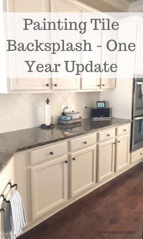 Fliese Backsplash malen – ein Jahr später