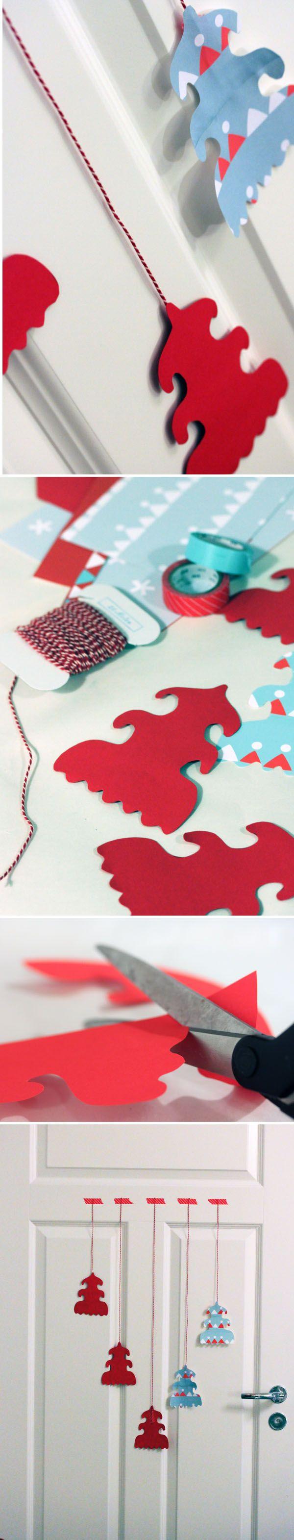 Ovikoriste. lasten | askartelu | joulu | käsityöt | koti | sisustus | DIY ideas | kid crafts | christmas | home | decor | Pikku Kakkonen
