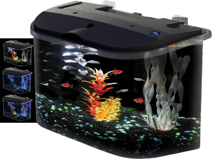 Fist Tank Decor Design Ideas ~ http://www.lookmyhomes.com/fish-tank-decor-ideas/