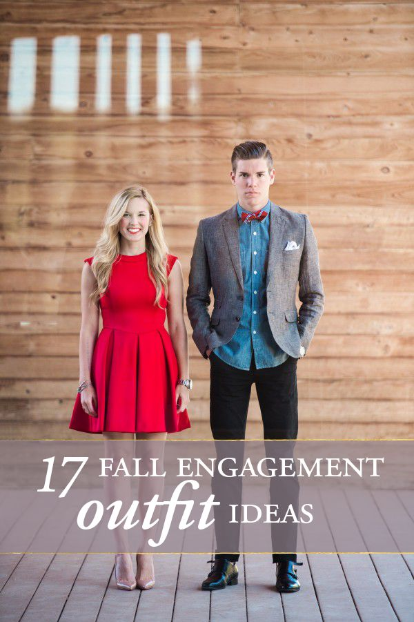 Cozy Cute Cool 17 Fall Engagement Outfit Ideas
