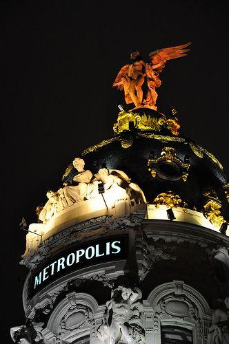 AMO ESTE EDIFICIO!!!! Madrid, Spain