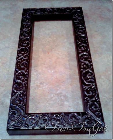 how to emboss picture frames