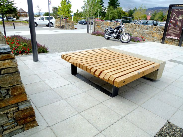 To retain the charm and natural character of Cromwell Town Centre the Otago District Council worked with Urban Effects, Baxter Design and Fulton Hogan-Alexandra. Products used for this projects includes a corten spencer rubbish bins, corten word bollard / bike racks and a wooden platform benches. #CortenSpencerRubbishBins #urbaneffects #urbanfurniture #streetfurniture #outdoorfurniture #WoodenBenches #benches #OutdoorBenches #Bollard #BikeRacks