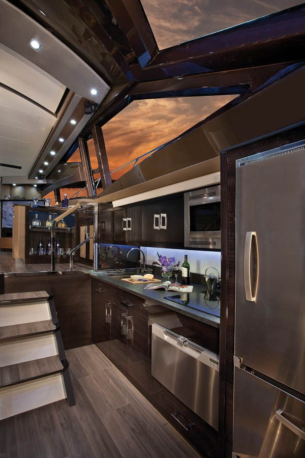 Best Yacht Interiors | Photo by Neil Rabinowitz