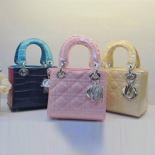 Lady Dior MINI BB Bag With Rink Sheepskin Leather Silver Hardware 8042 /DEUYNIXA