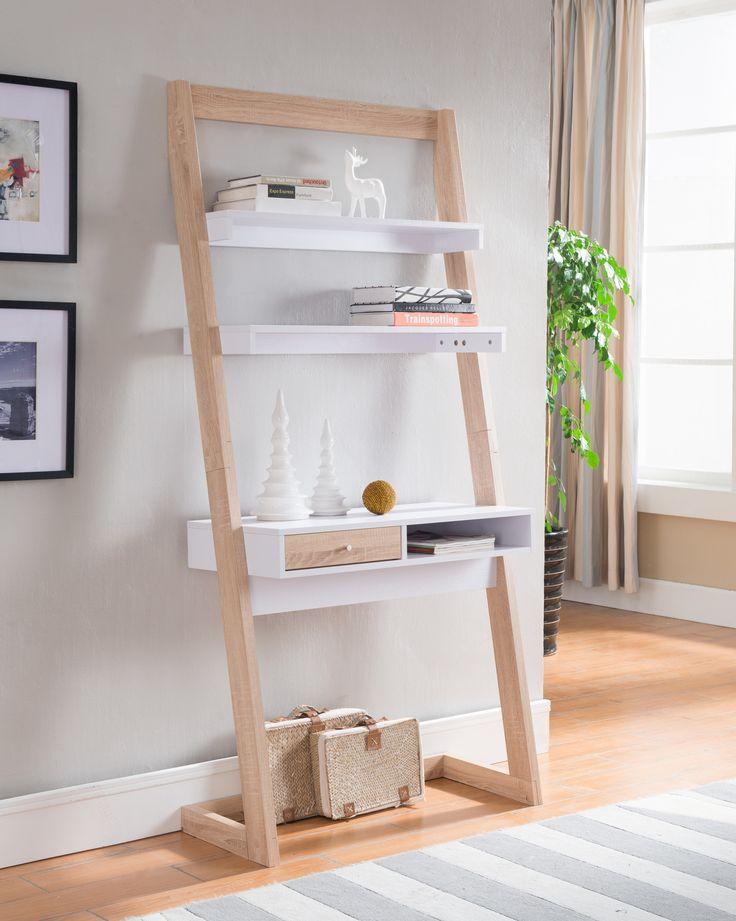 25 best ideas about leaning shelves on pinterest. Black Bedroom Furniture Sets. Home Design Ideas