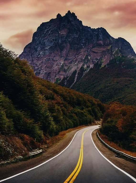 Ruta 3, Monte Olivia, Fin del Mundo, Ushuaia, Argentina