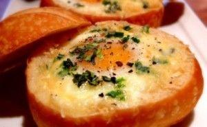 Resep Sarapan Roti Telur Panggang
