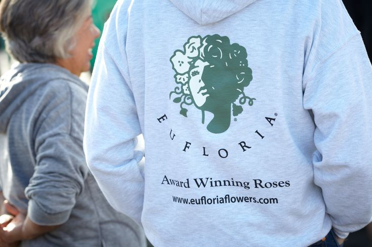 Eufloria's Famous Logo... the Rose Goddess ... Your Symbol for the Freshest CA Grown Roses... the Prettiest Roses on the Planet!