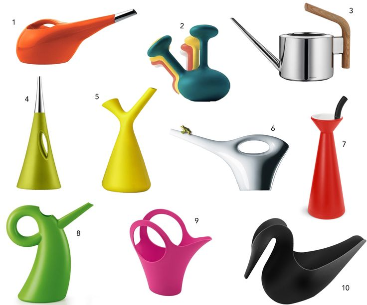 10 Modern Colorful Watering Cans - Design Milk