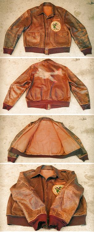 Vintage Leather A2 Jacket