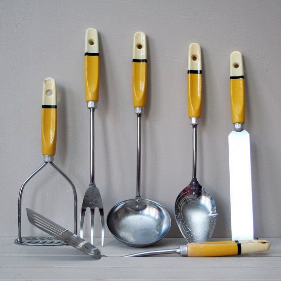 1950s kitchen tools