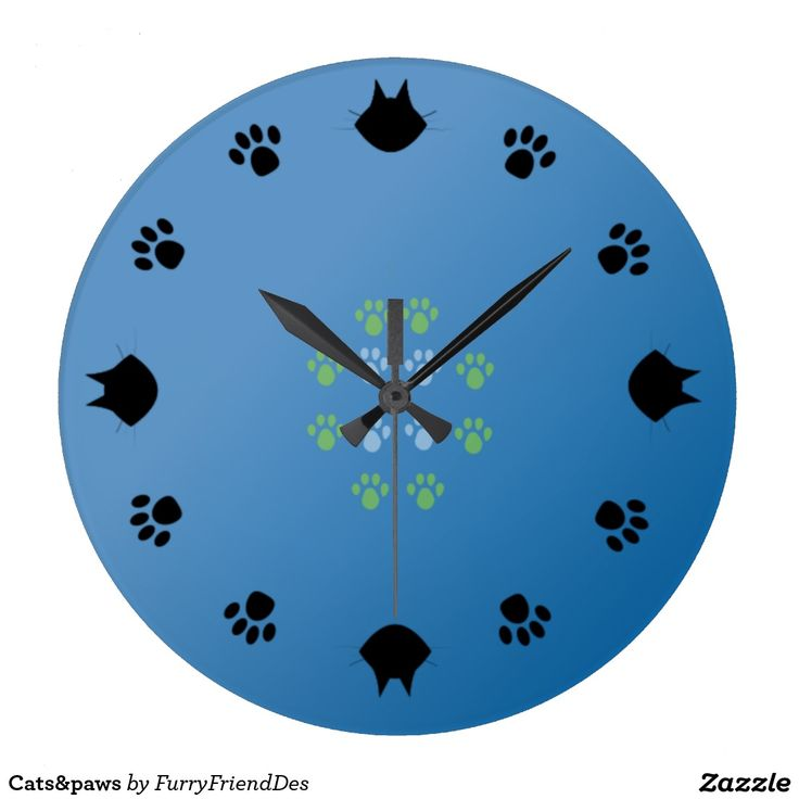 Cats&paws Wall Clocks