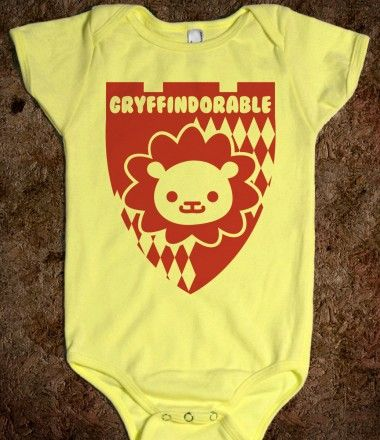 Gryffindorable onesie