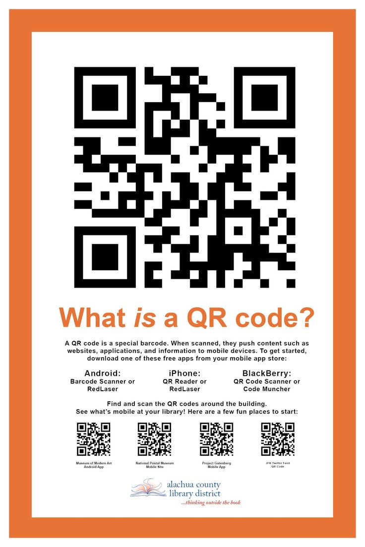 Poster design with qr code - Barcode Poster Google