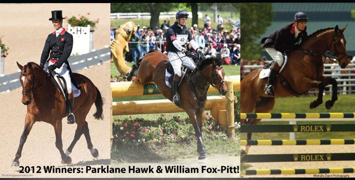 Rolex Kentucky Three Day Event, Equestrian Events Kentucky, Equine Dressage, Equine Jumping...2012 Winners Parklane Hawk and William Fox-Pitt