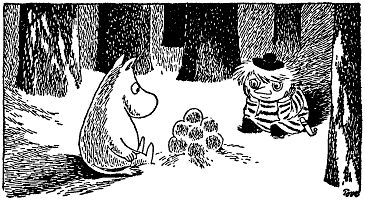 Moomin and Snufkin