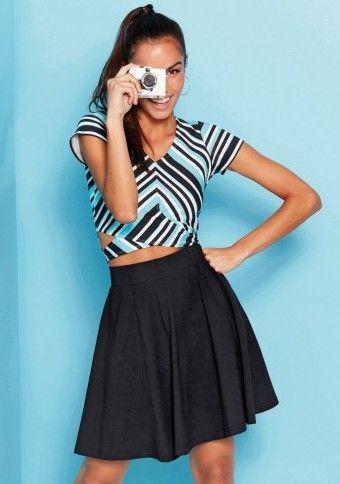 Krátká sukně do zvonu #ModinoCZ #modino_cz #modino_style #style  #fashion #spring #summer #skirt